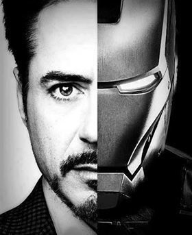Robert downey jr iron man clipart