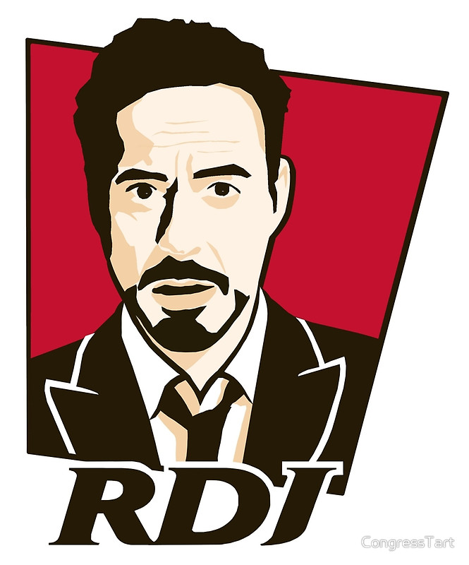 Robert Downey Jr. - KFC Logo by CongressTart
