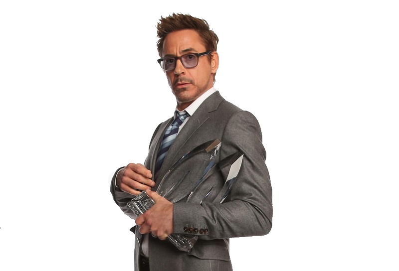 Robert Downey Jr Transparent PNG