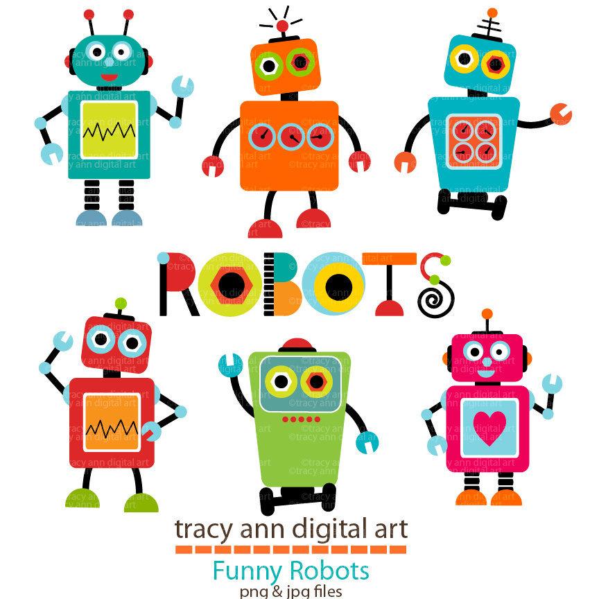 Robots clipart