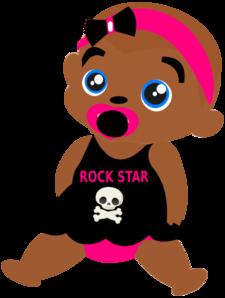 Rock Baby Clip Art