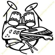 Rock Band Clip Art ..