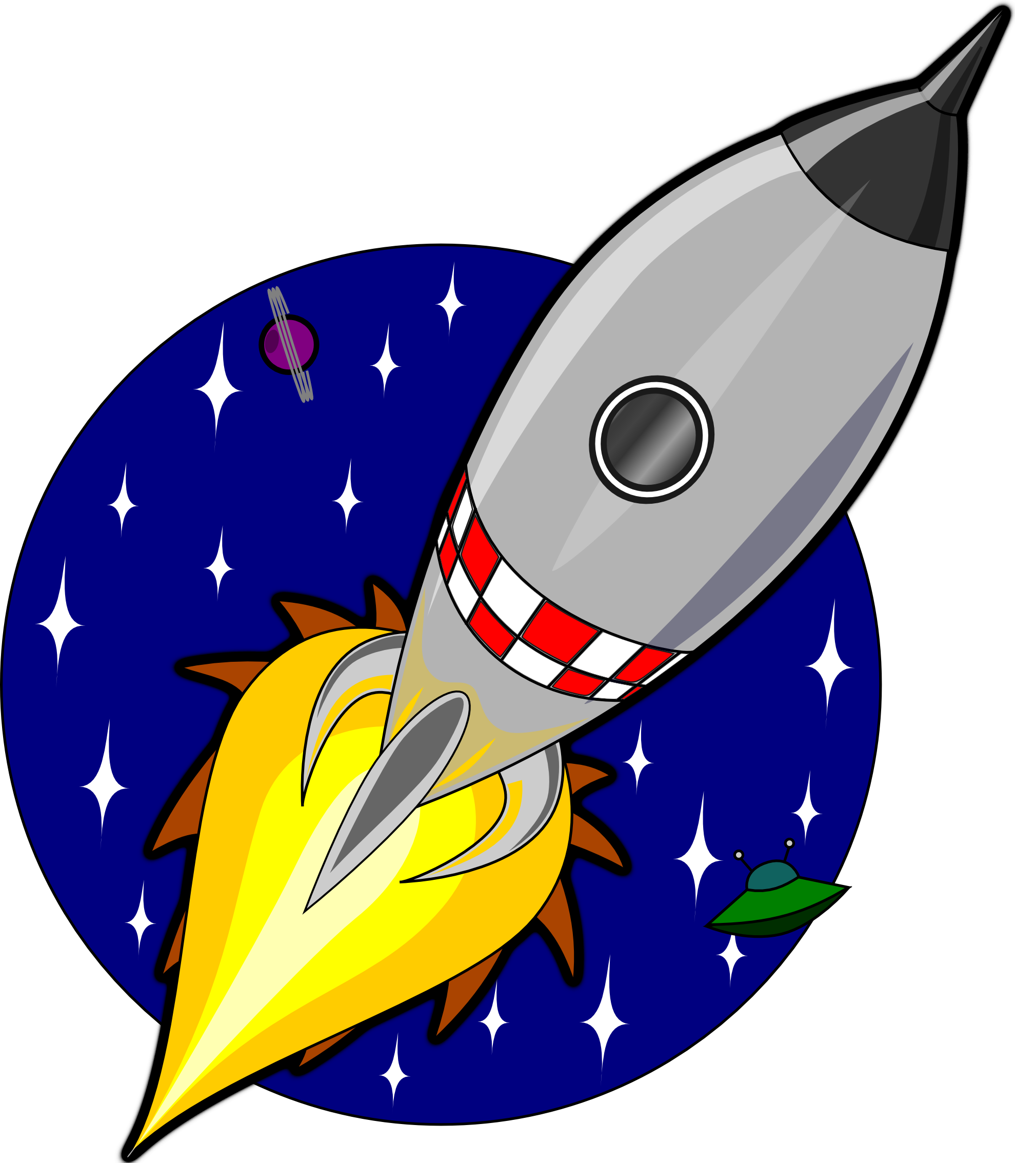 Rocket clipart cliparts and .
