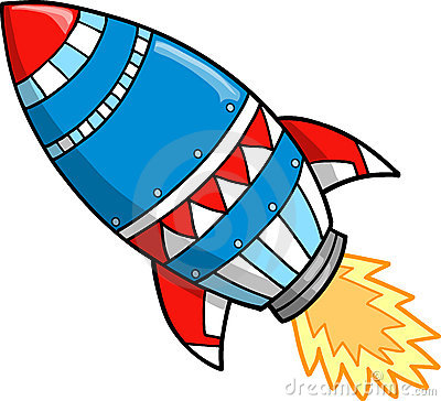 Cute Rocket Clipart #1 - Rocket Clipart