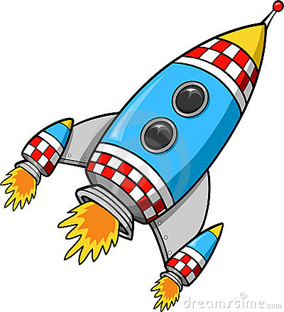 Pix For Rocket Clipart