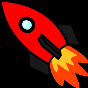 Red Rocket Clip Art
