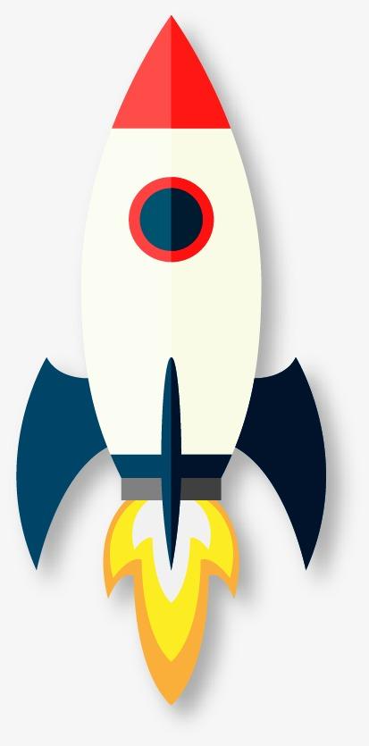 rocket, Rocket Clipart, Cartoon PNG and Vector