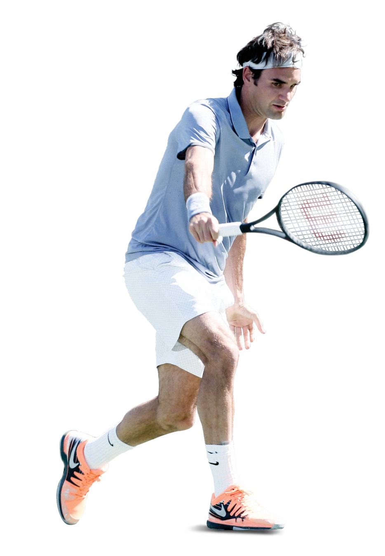 Roger Federer PNG File