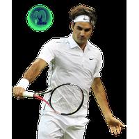 Roger Federer Transparent Image PNG Image