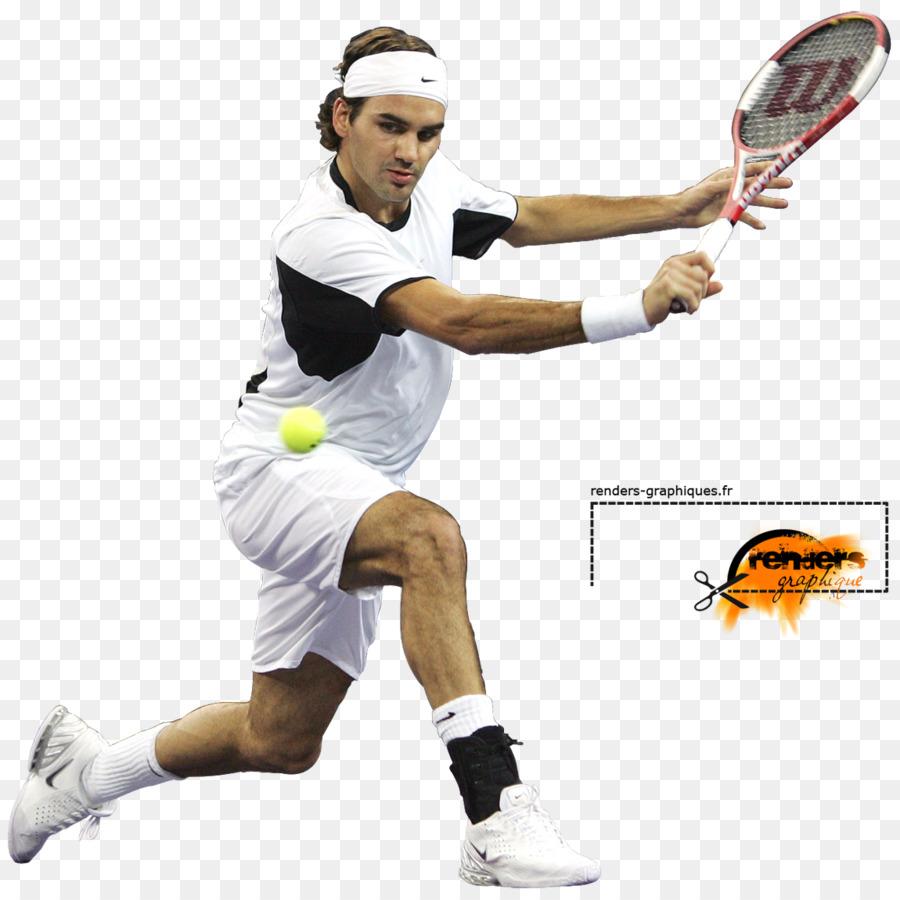 Tennis Racket Clip art - Roger Federer Transparent Background