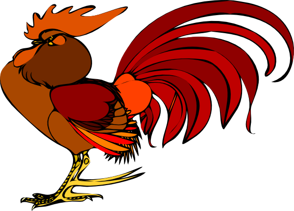 Rooster clipart kid
