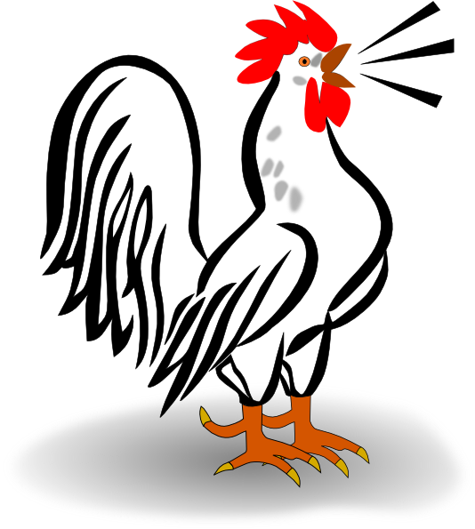 Rooster Morning Clipart Rooster Clip Art Vector Clip
