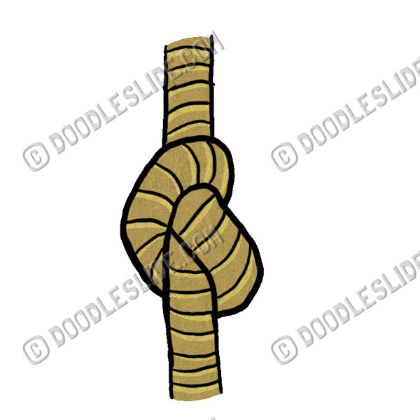 Rope with Knot · Knot Clip Art