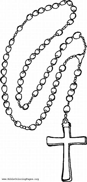Free coloring pages of our lady of the rosary clipart