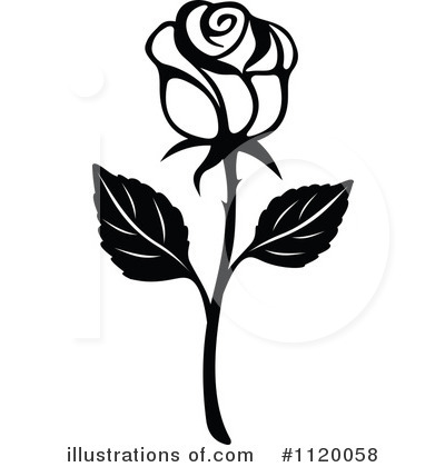 Rose Clipart Black And White Free. rose clipart
