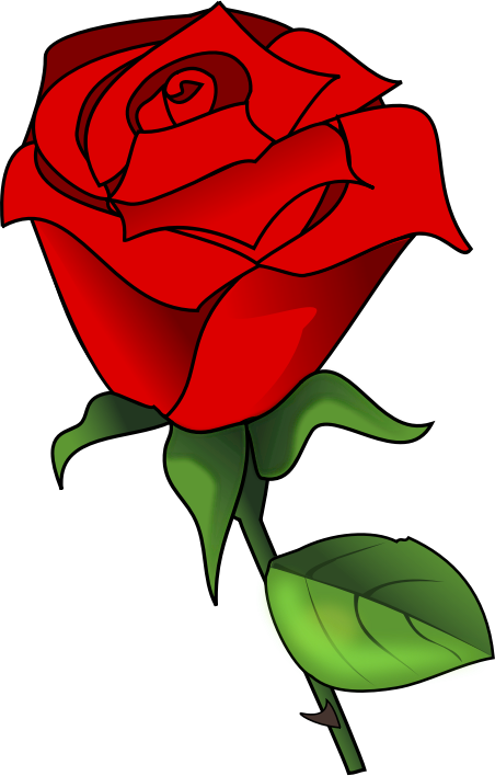 Clipart Rose Top 75 Roses Clip Art Free Clipart Image History Clipart
