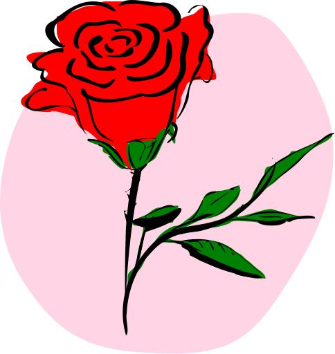 Roses Clip Art 1 - Roses Clipart