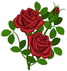 Roses free rose clipart public domain flower clip art images and 3 2 - Clipartix