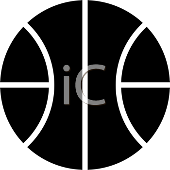 Royalty Free Basketball Clipart