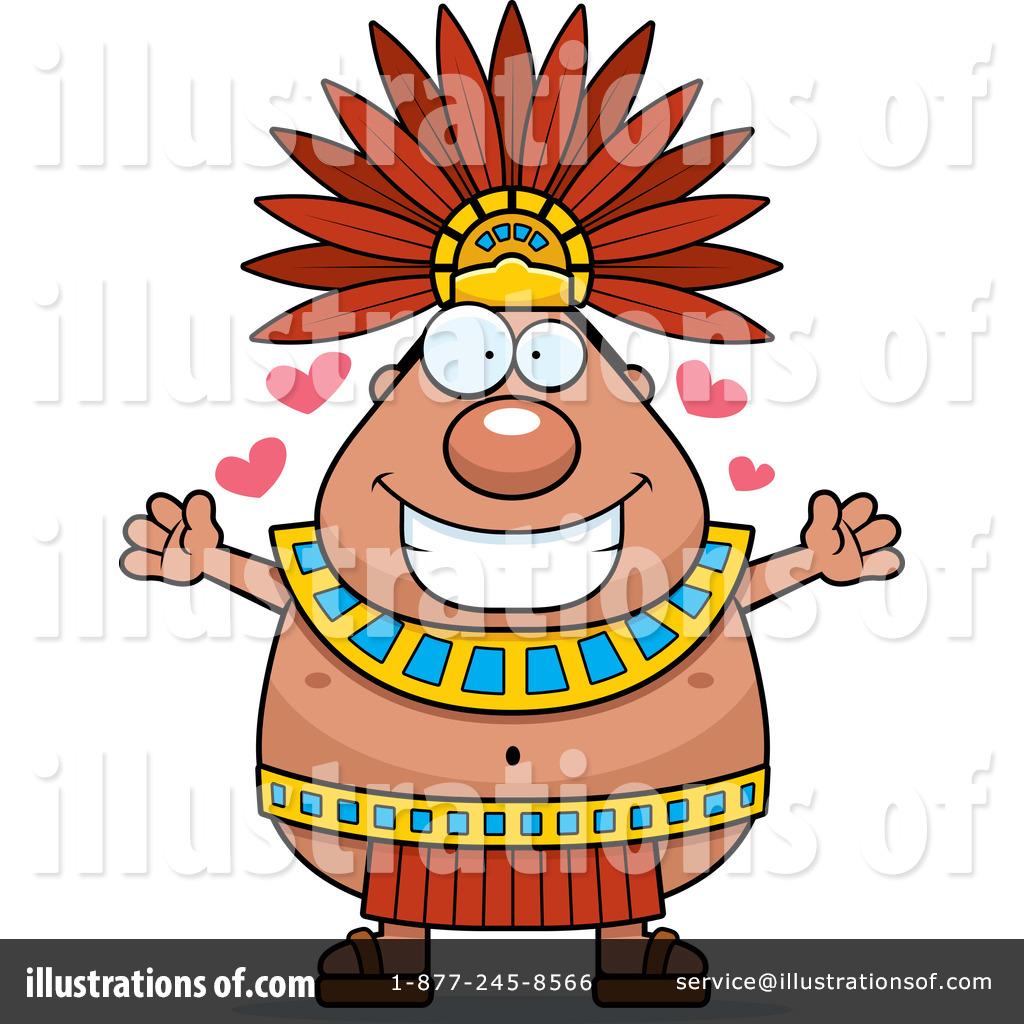 Royalty-Free (RF) Aztec Clipart Illustration #1240556 by Cory Thoman