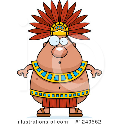 Royalty-Free (RF) Aztec Clipart Illustration #1240562 by Cory Thoman