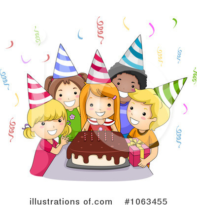 Royalty Free Rf Birthday Party Clipart Illustration 1063455 By Bnp