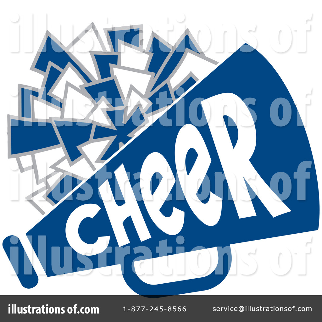 Royalty-Free (RF) Cheerleading Clipart Illustration #1115555