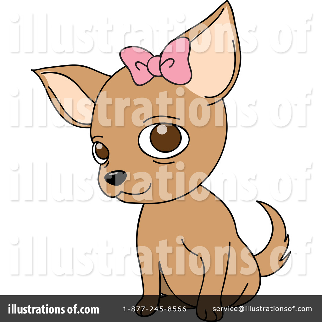 Royalty-Free (RF) Chihuahua Clipart Illustration #1068736 by Rosie Piter