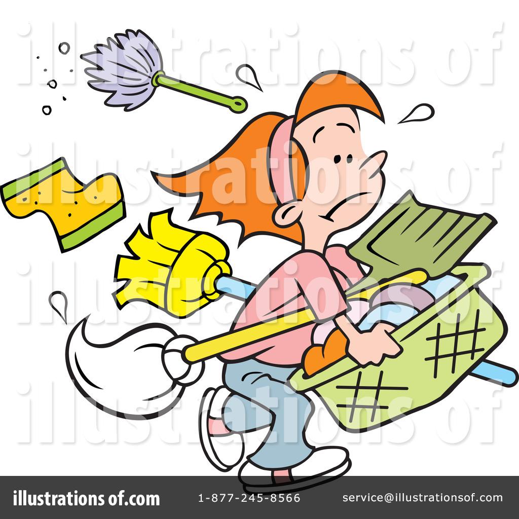 Royalty-Free (RF) Chores Clipart Illustration #1215428 by Johnny Sajem
