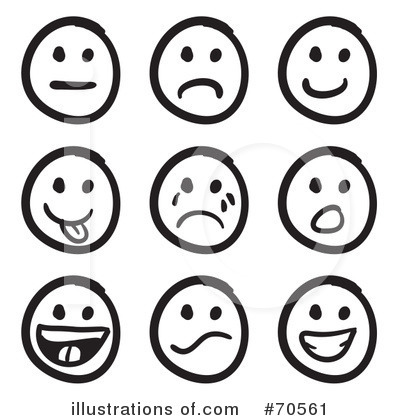 Royalty-Free (RF) Emoticon Clipart Illustration #70561 by Arena Creative