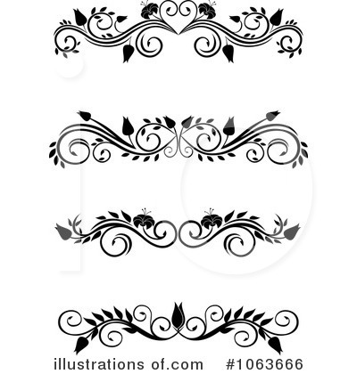 Royalty-Free (RF) Flourishes Clipart Illustration by Vector Tradition SM - Stock Sample