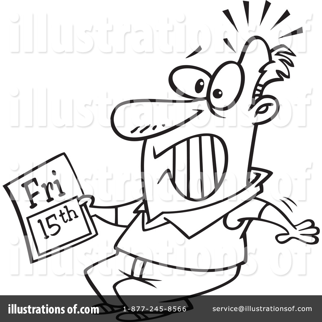 Royalty-Free (RF) Friday The 13th Clipart Illustration #1088813 by Ron Leishman