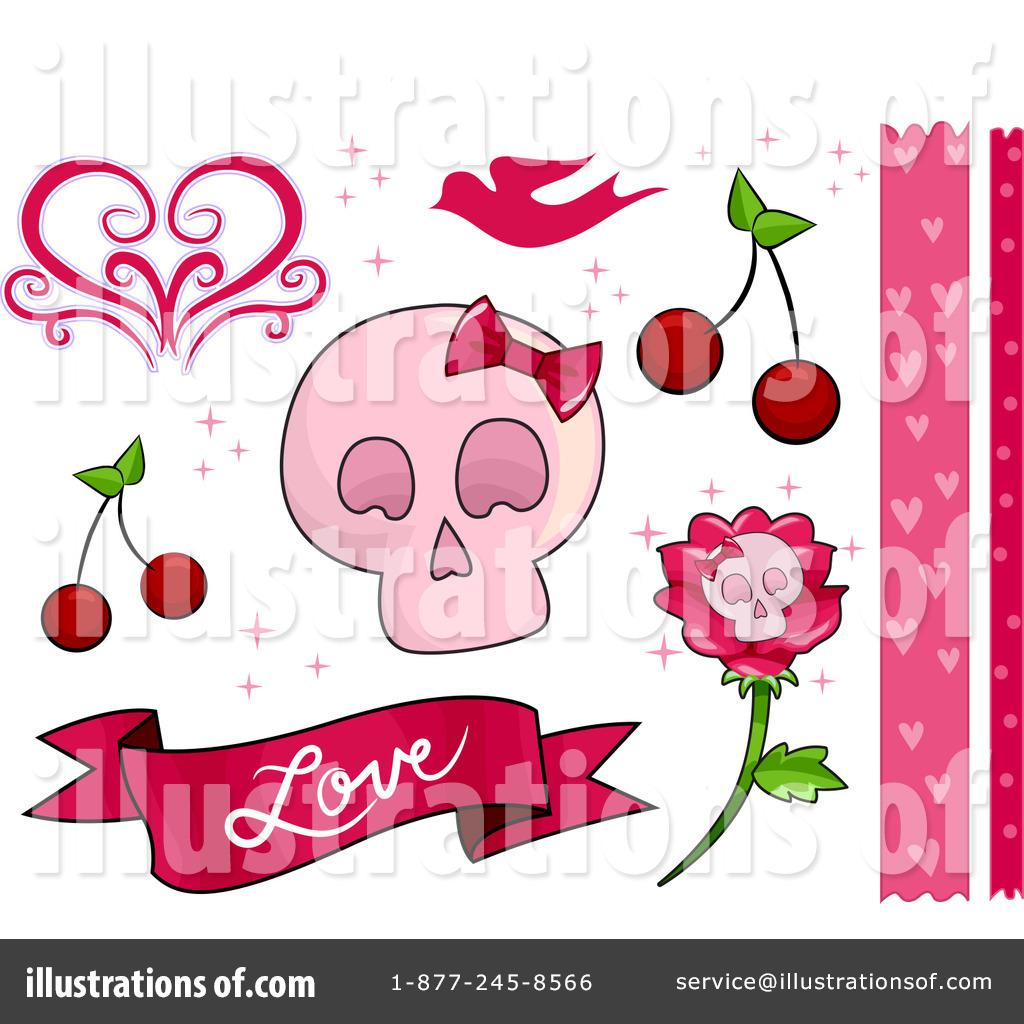 Royalty-Free (RF) Girly Clipart Illustration by BNP Design Studio - Stock Sample