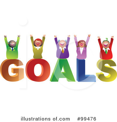 Royalty Free Rf Goals Illustration By Prawny Stock Sample Clipart