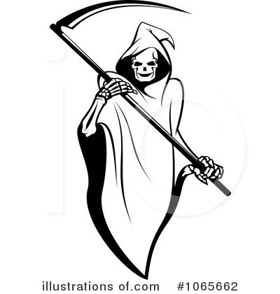 Royalty-Free (RF) Grim Reaper Clipart Illustration #1065662 by Vector Tradition SM