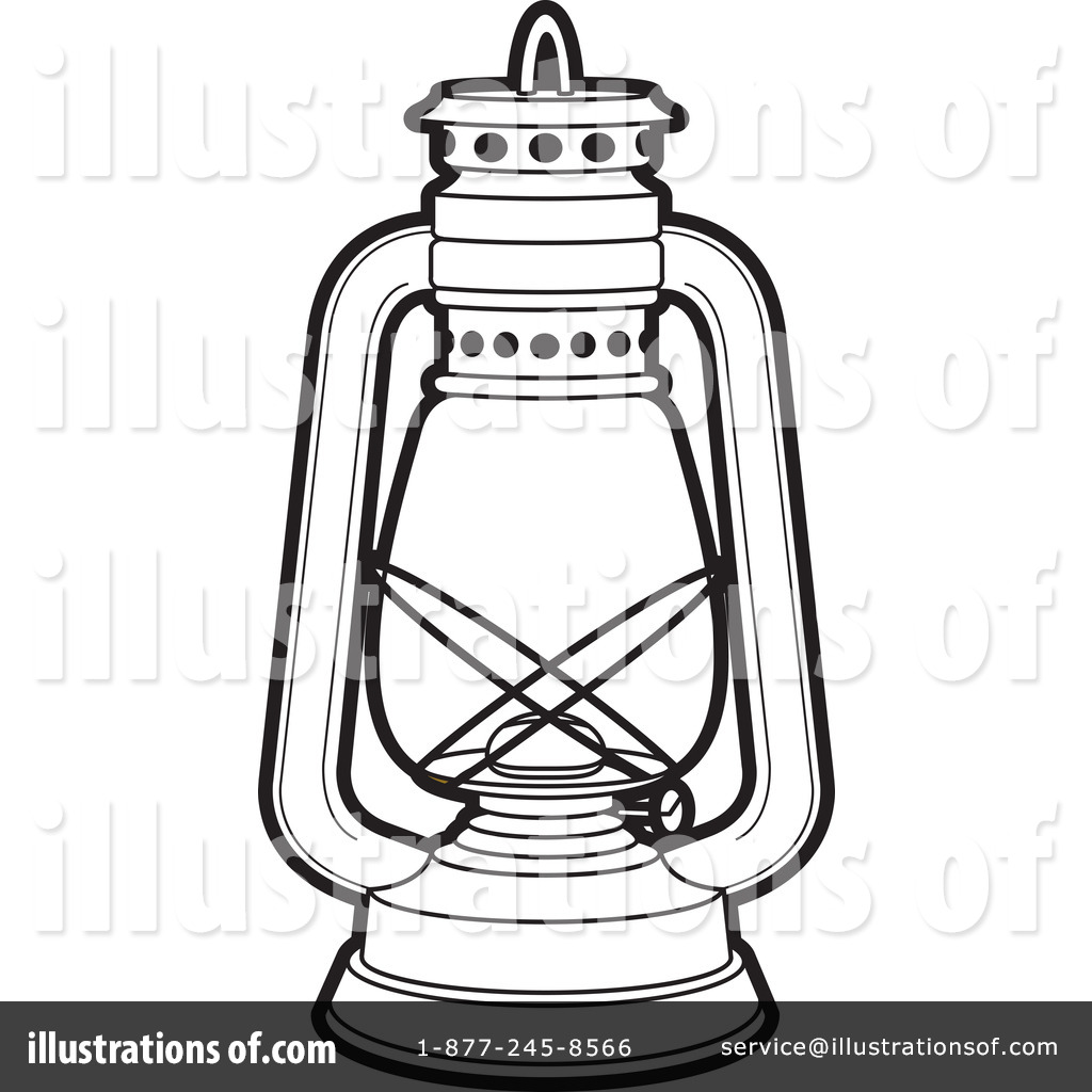 Royalty-Free (RF) Lantern Clipart Illustration #217883 by Lal Perera