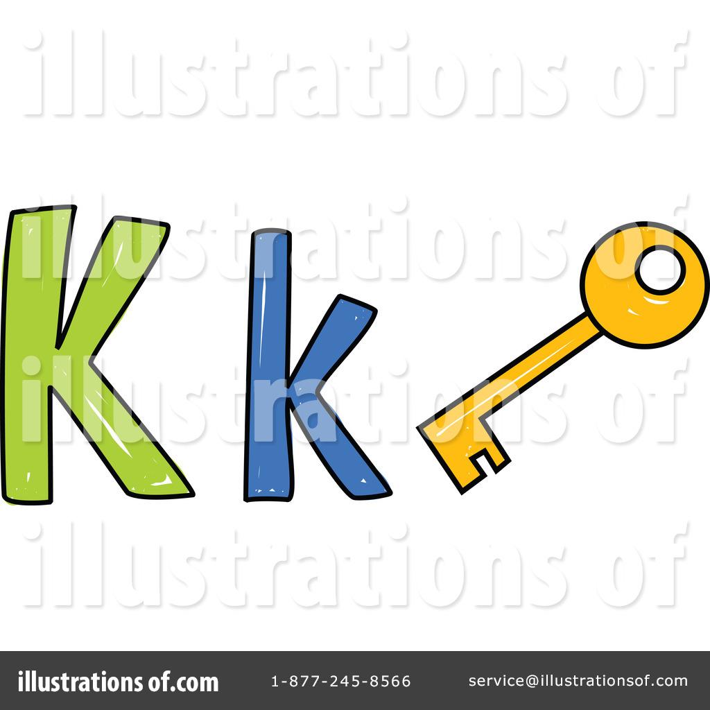 Royalty-Free (RF) Letter K Clipart Illustration #215651 by Prawny
