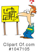 Royalty-Free (RF) Lost Clipart Illustration #1047105