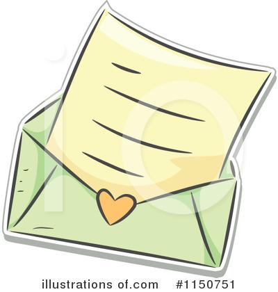Royalty-Free (RF) Love Letter Clipart Illustration #1150751 by BNP Design Studio