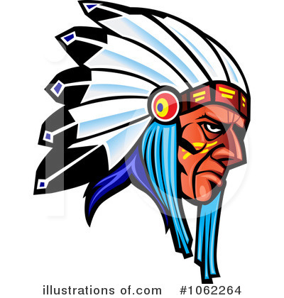 Royalty-Free (RF) Native American Clipart Illustration #1062264 by Vector Tradition SM