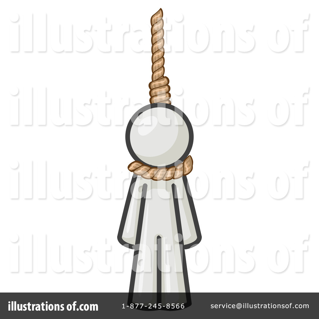 Royalty-Free (RF) Noose Clipart Illustration #219712 by Leo Blanchette