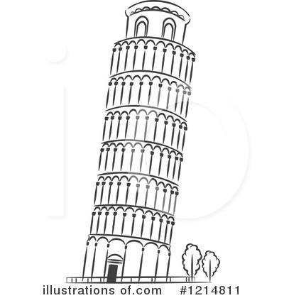 Royalty-Free (RF) Pisa Clipart Illustration by Vector Tradition SM - Stock Sample
