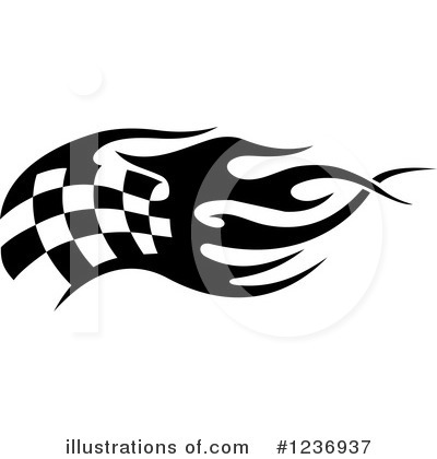 Royalty-Free (RF) Racing Flag Clipart Illustration #1236937 by Vector Tradition SM