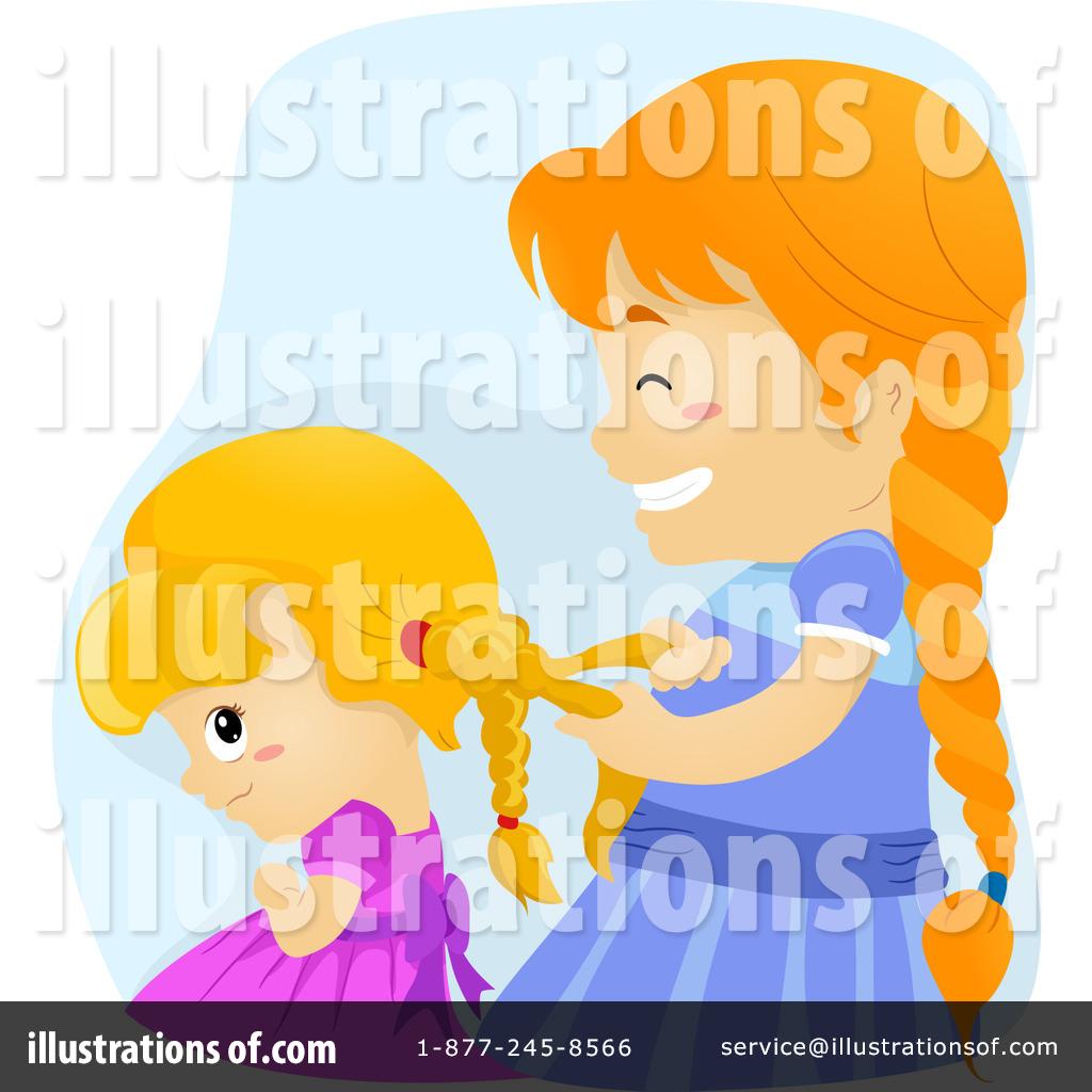 Royalty-Free (RF) Sisters Clipart Illustration by BNP Design Studio - Stock Sample