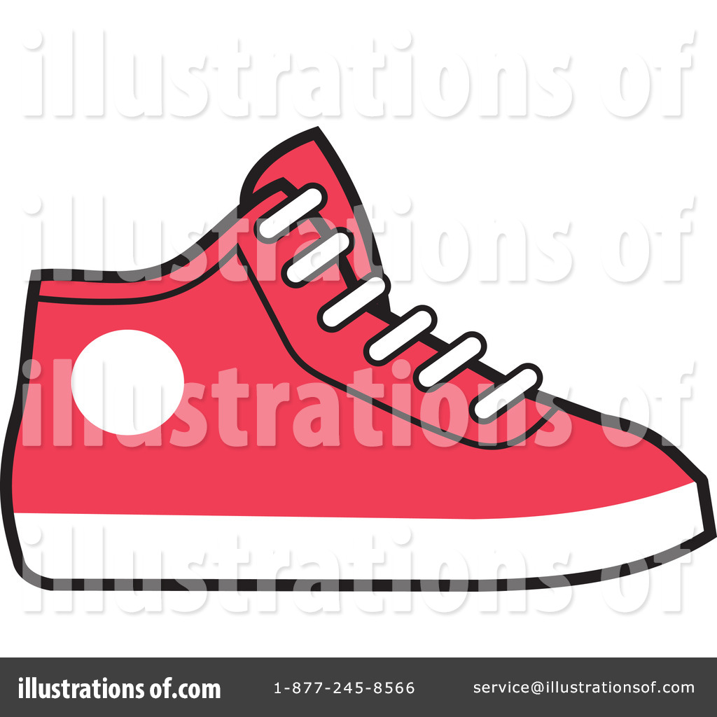 Royalty-Free (RF) Sneakers Clipart Illustration #227330 by Johnny Sajem