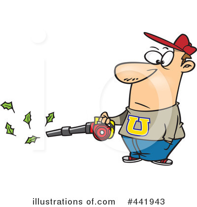 Royalty-Free (RF) Yard Work Clipart Illustration by Ron Leishman - Stock Sample