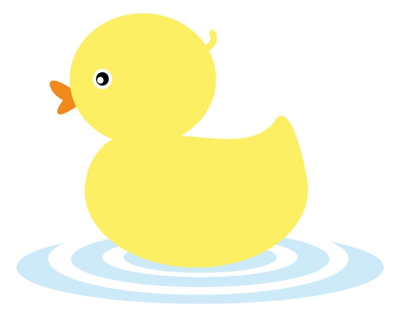 Duck Clipart Outline · Duck
