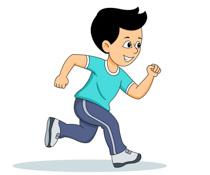 run clipart. Free Sports