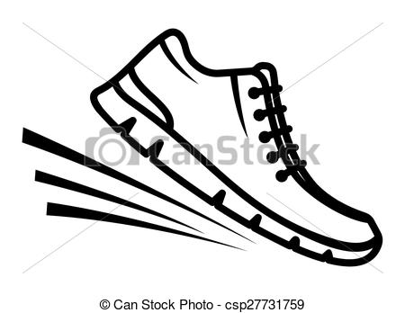 ... Running shoes icon