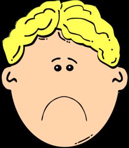 Sad Boy Clip Art